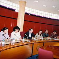 Xerrada a l'Ajuntament de Roquetes, any 2002