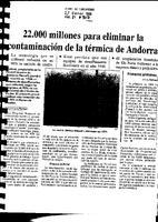 22.000 millones para eliminar la contaminación de la térmica de Andorra