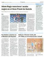Pau Doñate va dominar en el Mototerra de Roquetes