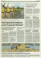 "Xavi Queral se impone en la ""Cursa de Tortosa"""