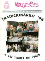 Roquetes: revista mensual d'informació local, número 152, agost-setembre  1998