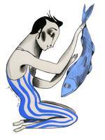 Il·lustració 'S'acosten canvis' d'Ignasi Blanch per a Catorze.cat, 2019