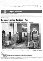 Deu anys entre Tortosa i Fes