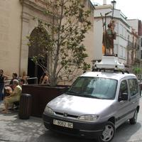 Benedicció de Sant Cristòfol, any 2007