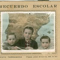 Alumnes escola, 1955