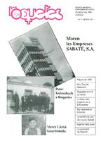 Roquetes: revista mensual d'informació local, número 77, gener 1992.