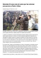 Detectats 20 casos més de sarna que fan extremar precaucions a Paüls i Alfara.
