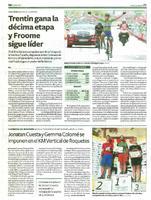 Jonatan Cuesta y Gemma Colomé se imponen en el KM Verical de Roquetes.