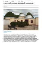 La UE finança l'Observatori de l'Ebre per un sistema d'identificació i alerta de pertorbacions ionosfèriques.