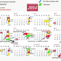 Calendari Trail Roquetes