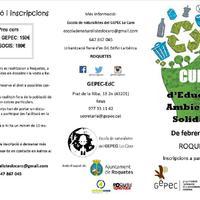 Curs d'Educació Ambiental i Solidària