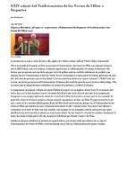 XXIV edició del Tradicionàrius de les Terres de l'Ebre a Roquetes