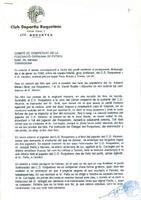 El CD Roquetenc exposa a la Federació Catalana de Futbol la seva versió dels fets esdevinguts en un partit amb l'Alcanar