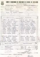 Acta de la Federació Catalana de Futból del partit disputat entre CE Jesús i Maria i el Cd Roquetes, el 1 de febrer del 1987