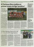 Doñate, Subirats y Royo, en lo más alto del podio de la Lliga Catalana
