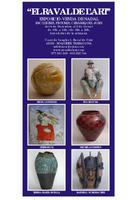 El Raval de l'Art: exposició-venda de Nadal: escultures, pintures, ceràmiques i joies