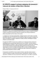 El COPATE engega la primera campanya de prevenció i reducció de residus al Baix Ebre i Montsià