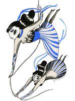 Il·lustració 'Toca ser valentes' d'Ignasi Blanch per a Catorze.cat