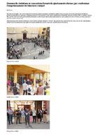 Desenes de ciutadans es concentren davant els ajuntaments ebrencs per condemnar l'empresonament de Sànchez i Cuixart.