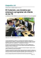 El Codeclub, una iniciativa per ensenyar a programar els infants de les TE