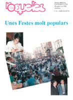 Roquetes: revista mensual d'informació local, número 83, juliol-agost, 1992.