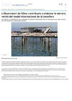 L'Observatori de l'Ebre contribueix a elaborar la darrera versió del model internacional de la ionosfera