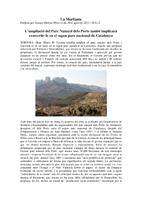 L'ampliació del Parc Naturals dels Ports també implicarà convertir-lo en el segon parc nacional de Catalunya