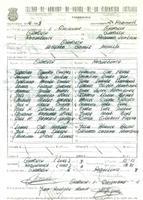 Acta de la Federació Catalana de Futbol del partit disputat entre CF Gandesa i el CD Roquetenc, el i de desembre de 1974