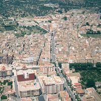 Roquetes : nucli urbà.