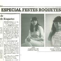 Salutació de l'Alcalde de Roquetes: Especial Festes de Roquetes