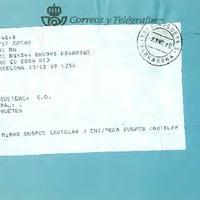 Telegrama del CD Roquetenc, 1998