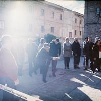 Inauguració de l'espai de bitlles de la Llar de Jubilats i Pensionistes de Roquetes