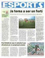 Pau Doñate ja sap el calendari que afrontarà en el campionat estatal.