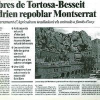 Cabres de Tortosa-Beseit podrien repoblar Montserrat
