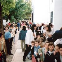 Inici curs 2001-2002 CEIP Mestre Marcel·lí Domingo de Roquetes