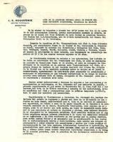 Acta de l'Assemblea General Anual de Socis del CD Roquetenc, celebrada el 12 d'agost de 1970