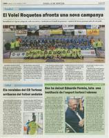 El Volei Roquetes afronta una nova campanya.