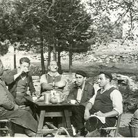 Esmorzar al Port. 1950