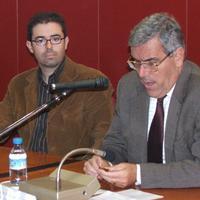 Xerrada a l'Ajuntament de Roquetes a l'any 2005
