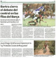 Juan Diego Grañana se impone en la '23 Trobada Ciutat de Roquetes'