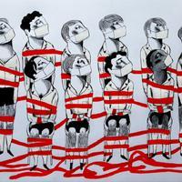 Il·lustracions 'Esperant el futur' d'Ignasi Blanch per a Catorze.cat