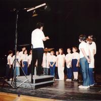 Trobada de Corals a l'Auditori Felip Pedrell de Tortosa, l'any 2002