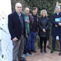 Quinze escultures explicaran la història de Tortosa al passeig de Ronda.