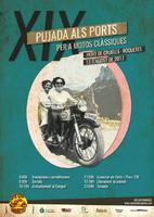 XIX Pujada als Ports per a motos clàssiques.