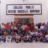 Curs 1991-1992. 8è EGB Escola Mestre Marcel·lí Domingo