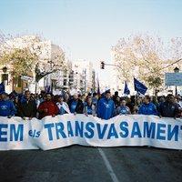 Manifestació Plataforma en Defensa de l'Ebre(PDE)