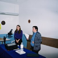 Xerrada sobre fisioterapeuta a càrrec de Marta Ramiro Salido a la seu de l'Associació de Dones de Roquetes