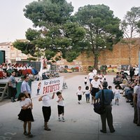 Ofrena de Flors i Fruits. Festes de Roquetes 2001