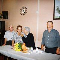 Homenatge a la Sr.Carme Llauradó, Presidenta de l'assocació de la Tercera edat de Lleida