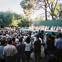 Proclamació de pubilles i pubilletes de l'any 2001 a l'Hort de Cruells